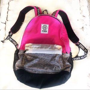 PINK. Backpack. 💕